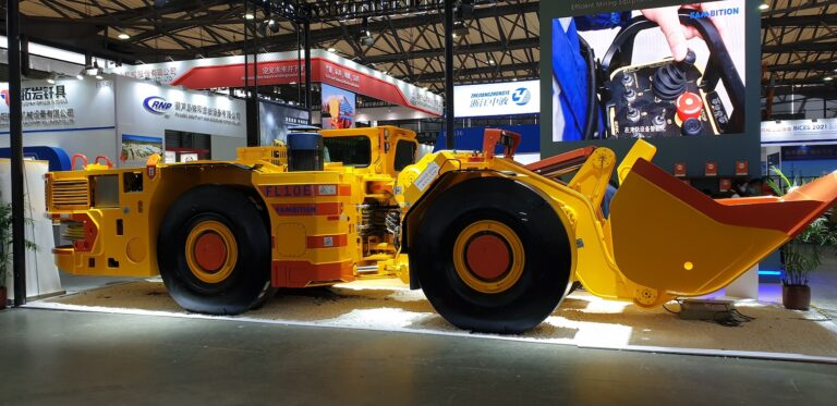an offroad vehicle protected with the detexline 4MC on an exhibition