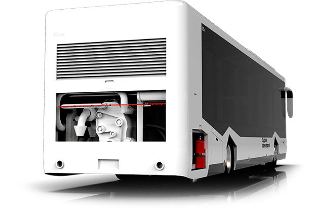 fire protection for buses and road vehicles